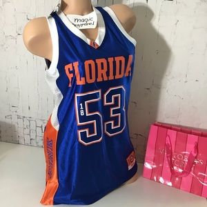 VS PINK UNIVERSITY OF FLORIDA GATORS JERSEY CAMPUS
